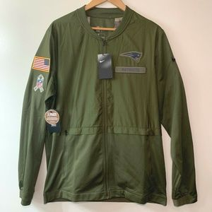 New England Patriots Salute to Service Jacket - L
